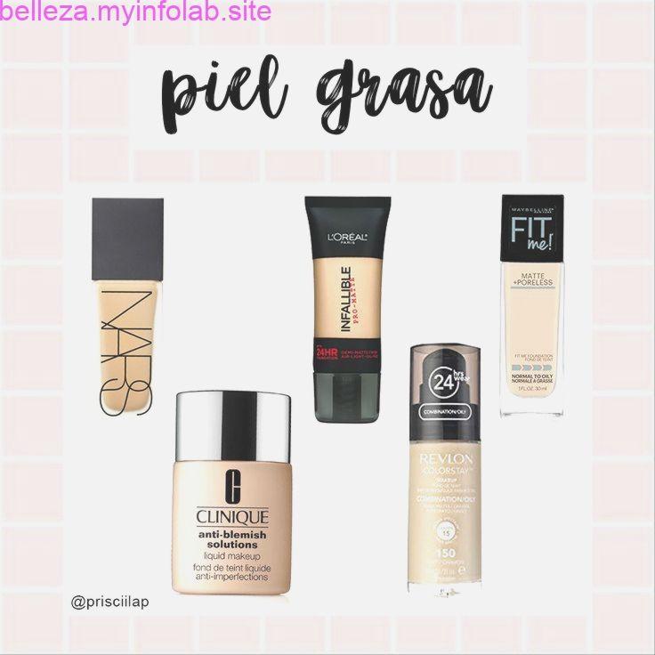 Bases Para Piel Grasa Liquid Makeup Skin Care Masks Makeup