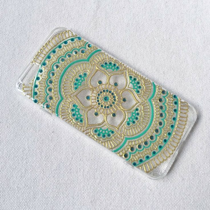 Henna Mandala Art Phone Case Hand Painted Drawn Gold Blue iPhone 6 Case iPhone 6s plus clear Samsung Galaxy S5 S6 Note 3 5 LG A9 Sony Xperia by SnowHennaArt on Etsy https://www.etsy.com/hk-en/listing/292340949/henna-mandala-art-phone-case-hand