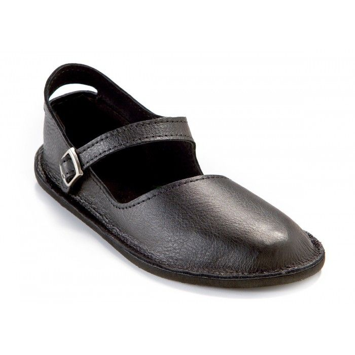Black Mary Jane Shoes for Women - a dressier minimalist shoe $85