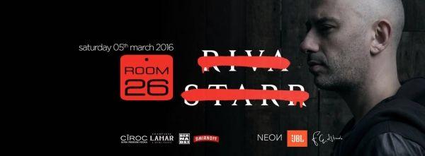 Room 26: sabato 5 marzo 2016 - Special Dj Guest: Riva Starr. Feste, Eventi, informazioni e prenotazioni lista e tavoli Discoteche Roma. Lista One-Night.
