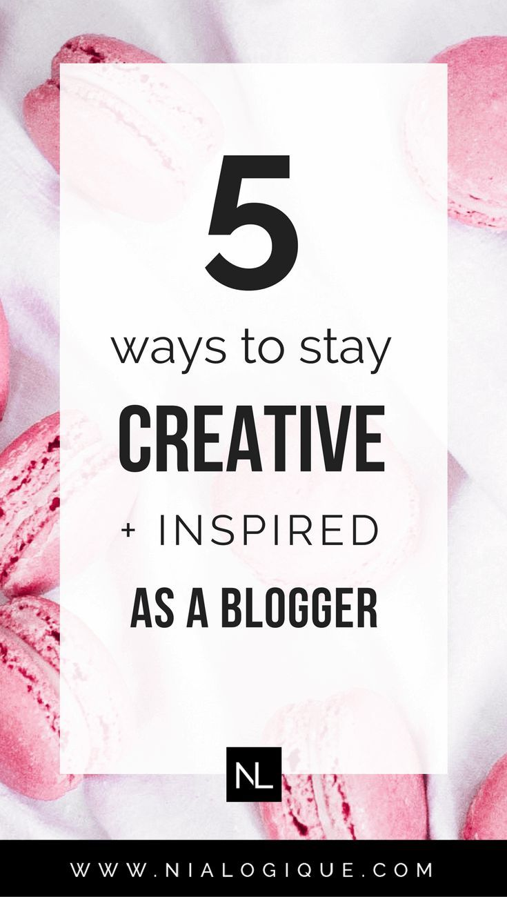 5 Ways To Stay Creative + Inspired on a Daily Basis As A Blogger | Sometimes we just need a little help to get our creative juices flowing. Here are 5 ways you can be and stay original, artistic, and expressive with your blogging career.