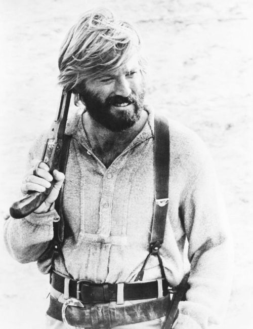 Robert Redford for Jeremiah Johnson (1972) I wish to be in this place now,livining like he in most possible way