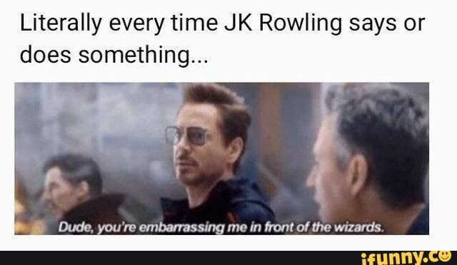 These Tweets Memes About Jk Rowling Explaining Dumbledore S