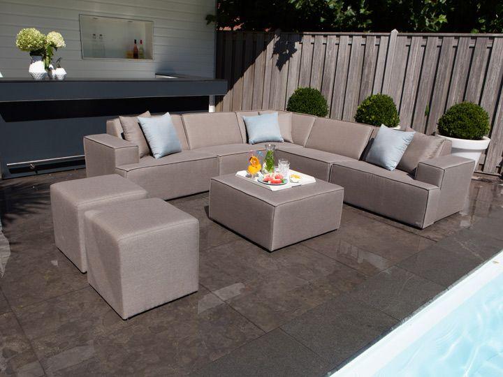 die besten 25+ polyrattan sofa ideen auf pinterest | rattan, Gartenmöbel