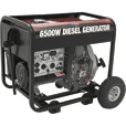 All Power America Portable Diesel Generator — 6500 Surge Watts, 5000 Rated Watts, Model#  APG3201