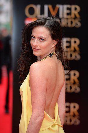Lawrence Olivier Awards: British actress Lara Pulver arrives for the Lawrence Olivier Awards