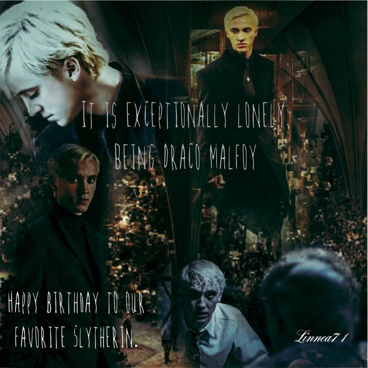 Draco Malfoy 37th birthday
