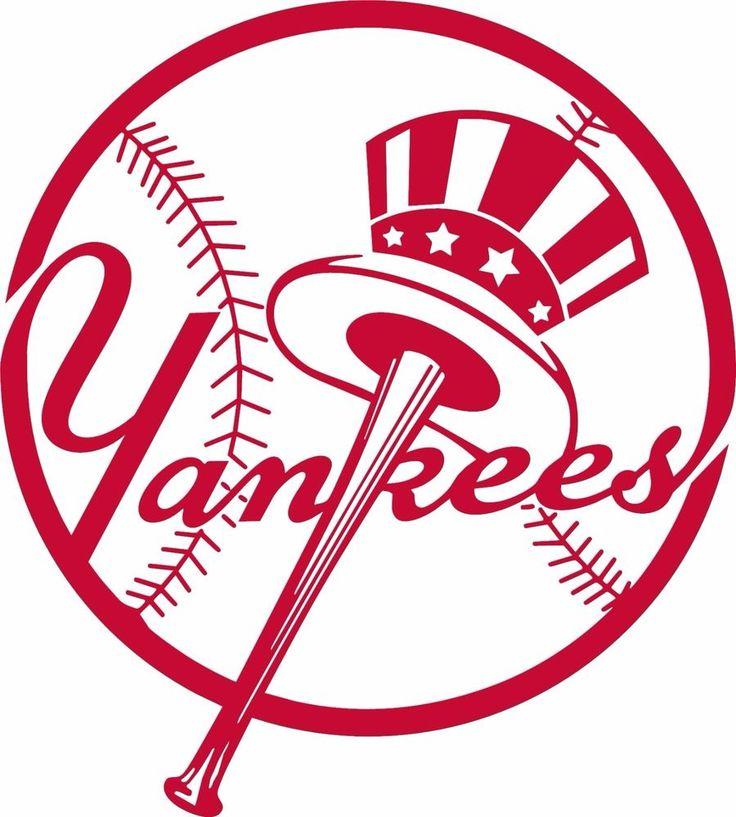 MLB Stickers - Yankees- Team Logo Baseball Decal Car Sticker Bumper #NewYorkYankees