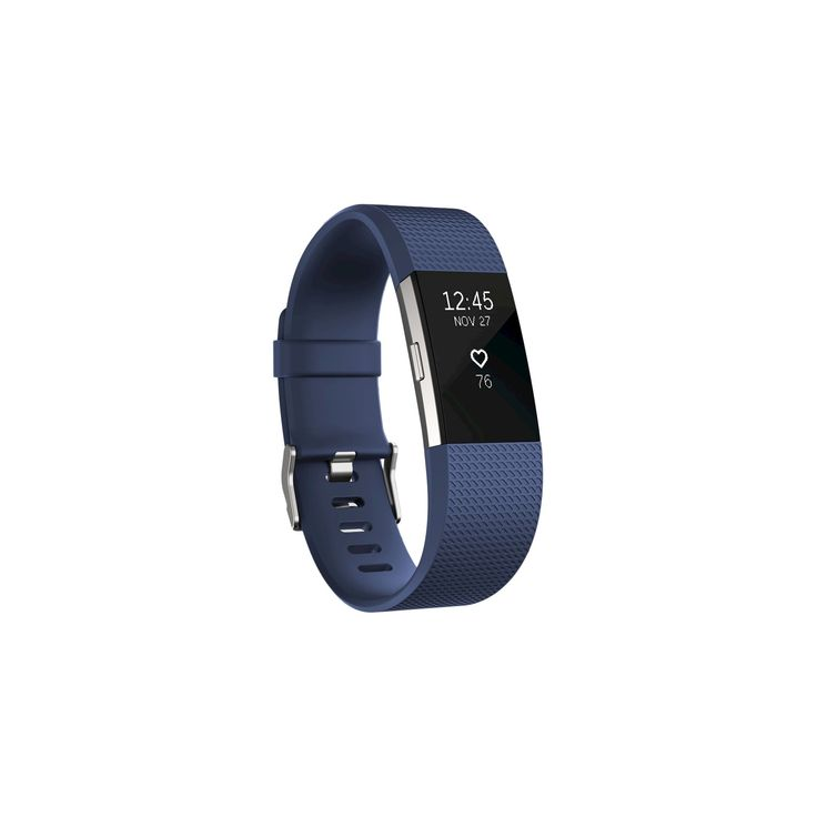 Fitbit Charge 2 Heart Rate + Fitness Wristband - Blue (Small)