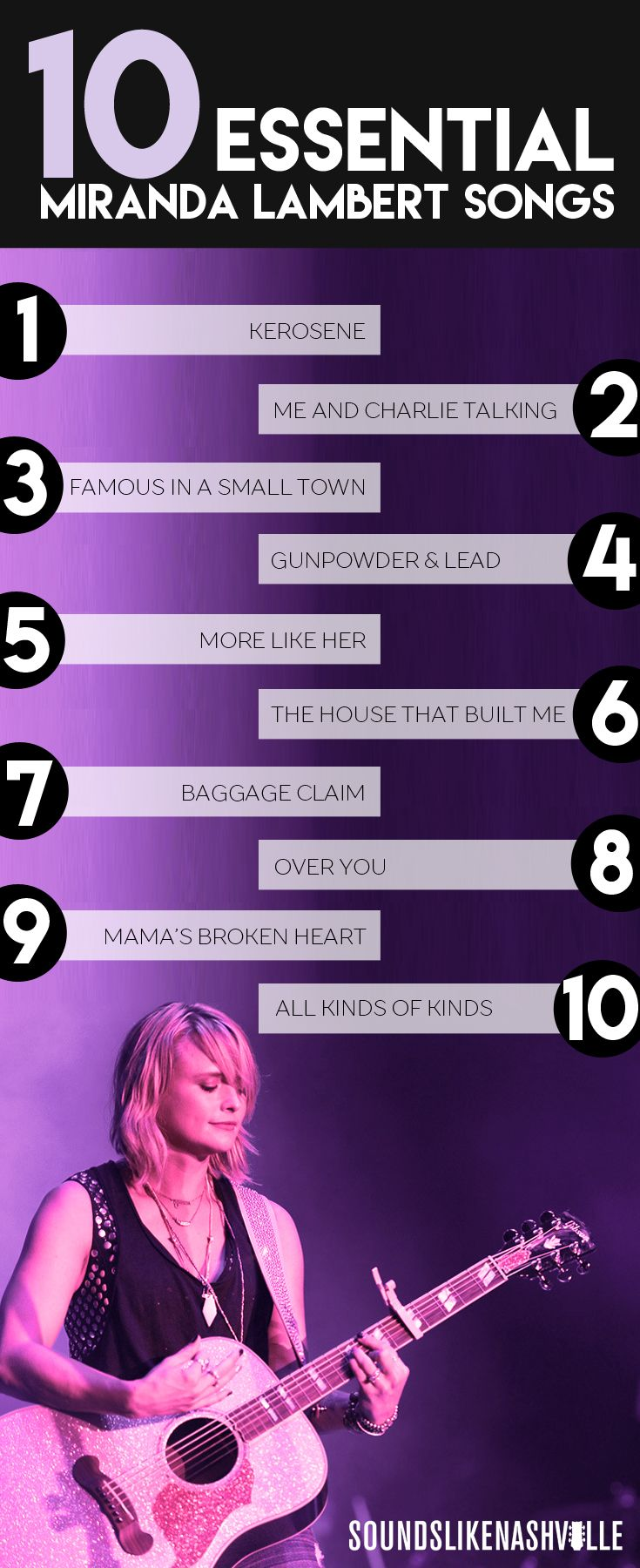 10 Essential Miranda Lambert Songs