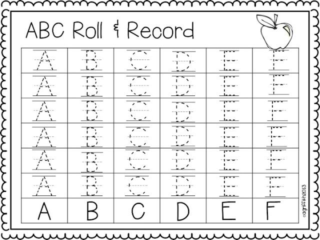 ABC roll & record freebie!!