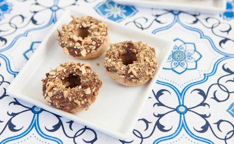 Epicure's Chocolate Dukkah Doughnuts