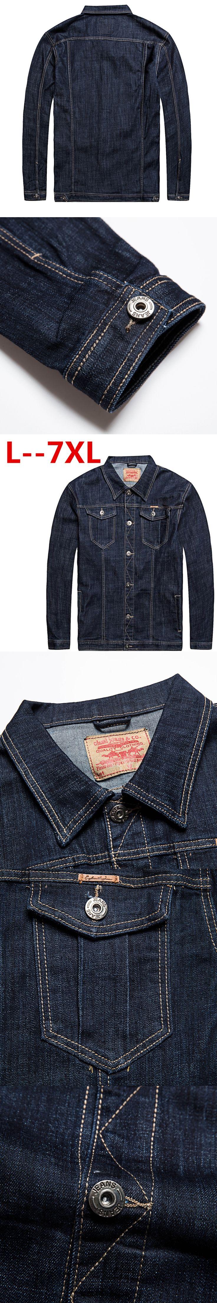10XL 8XL 6XL 5XL Men's Denim Jackets New Men Fashion Cowboy Motorcycle Jacket Caots Clothing Male Classic Casual Loose Outwear