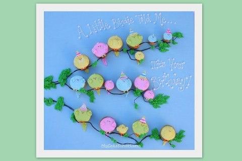 .: Birthday Cupcake, Cakes Ideas, Birthday Parties, Flower Cupcake, Cute Ideas, Cupcake Tutorials, Birds Cupcake, Cupcake Cakes, Birthday Ideas