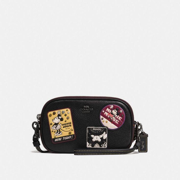 クロスボディ クラッチ ウィズ ミニー パッチのご紹介です。コーチ公式オンラインストアでは、最新コレクション、ニュース、イベントや限定製品をはじめ、バッグ、革小物、シューズなど、ウィメンズ及びメンズのライフスタイルを提案するアイテムをお求めいただけます。