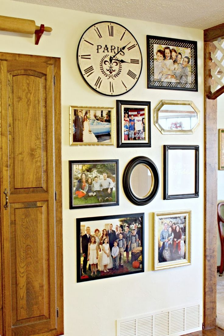 Dimples and Tangles: MOM'S GALLERY WALL AND RIBBON PHOTO MATS