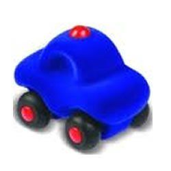 Rubbabu Microvehicles Police Car - 1 car 3 inches by Rubbabu. $5.95. Strong educational value for infants and toddlers (ages 0-6) develop sensory, motor, congnitive skills. These hand made natural rubber foam toys are made without cutting down trees. Using safe materials of the best quality, certified by EN 71 Parts 1, 2 and 3, ASTM 963F 16 CFR.... Rubbabu's hand made natural foam toys in simple shapes and bright colors are loved by kids and parents alike.  Soft ...