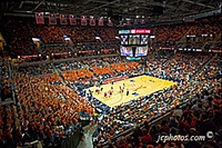 UVA University of Virginia pictures - John Paul Jones Arena... Jack Cacciatore Photography