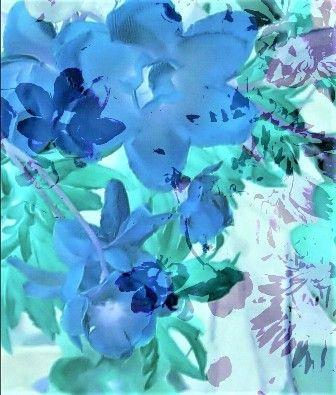 #kunstfotografie #bloemen #abstract #blauw #blue