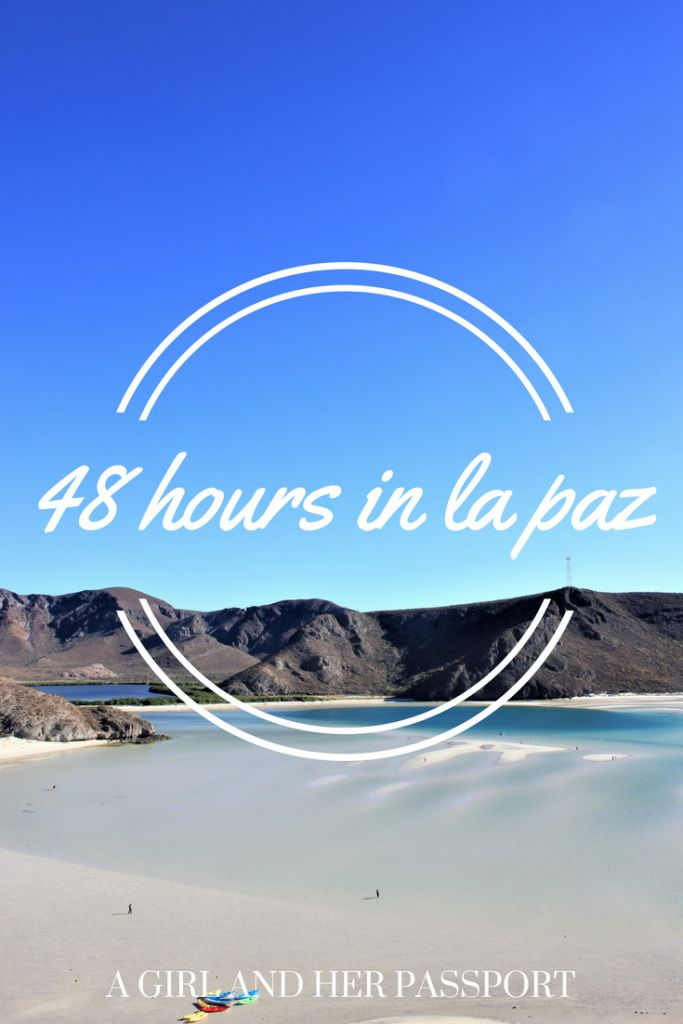 Guest post on how to spend 48 hours in La Paz, Mexico. After you see the beaches, you will be booking your ticket!