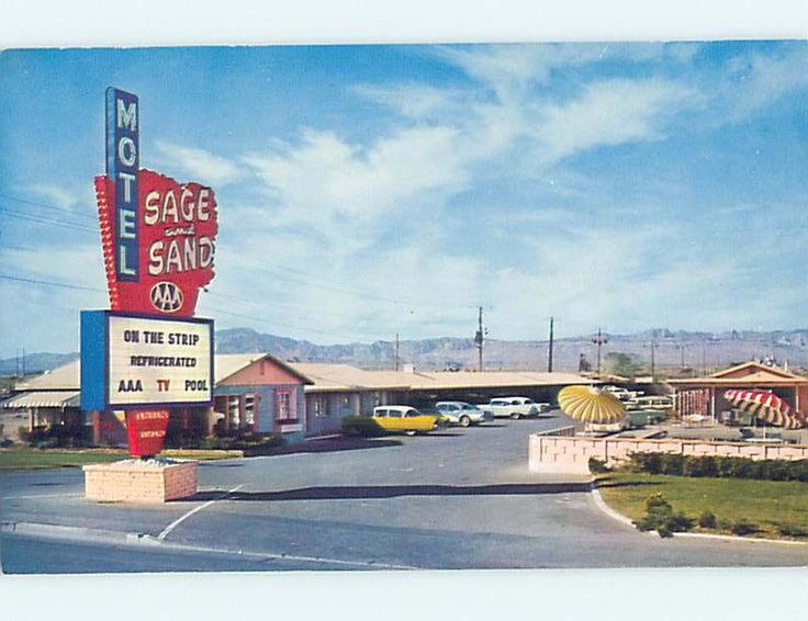 Sage and Sand Motel Las Vegas on the Strip and Refrigerated
