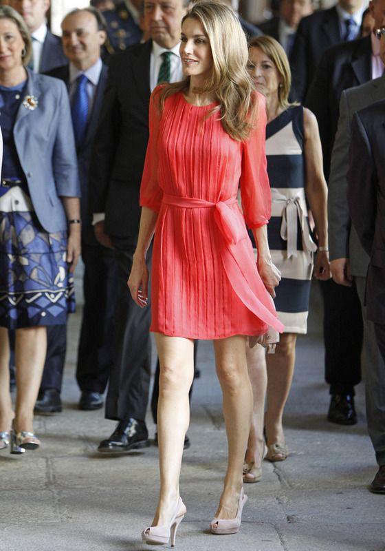 Princess Letizia of Spain - summer looks