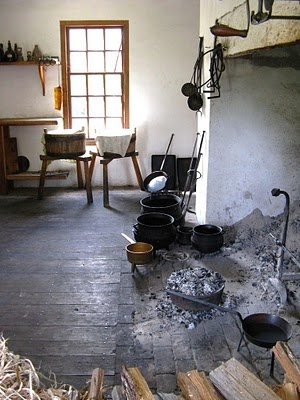 It's About Time: In Colonial American Kitchens...Peyton Randolph House, Williamsburg, VA