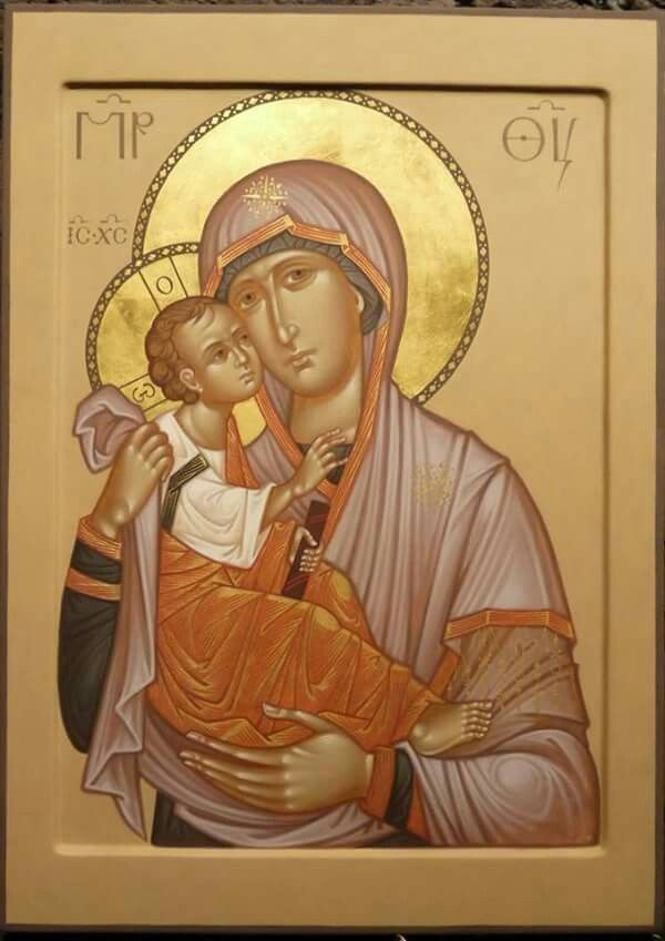 The Chilandar Akathist Icon of the Theotokos