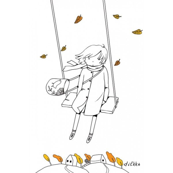 On the swing - Postcards, Mainstrem and trendy