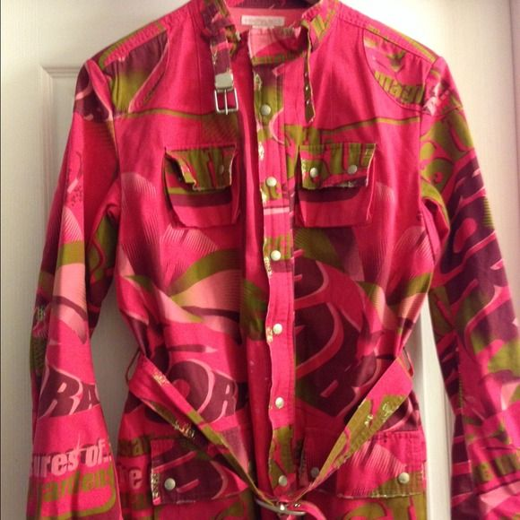 Custo Barcelona Jacket, Size 44 euro/10 US Beautiful Custo Barcelona Jacket, excellent condition. Custo Barcelona Jackets & Coats