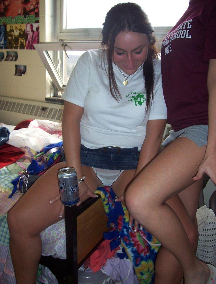 upskirt in college dorm rooms