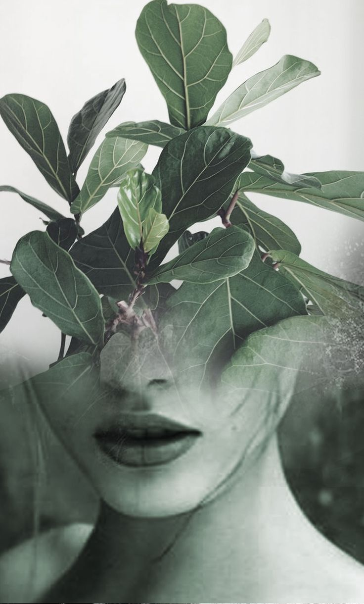 Double exposure portraits by Antonio Mora. He blends human and nature into surreal hybrid artworks.
