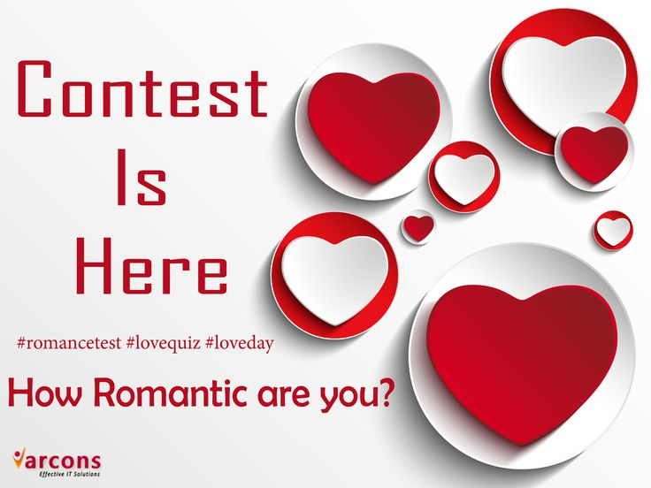 How romantic are you find out with super sweet quiz and