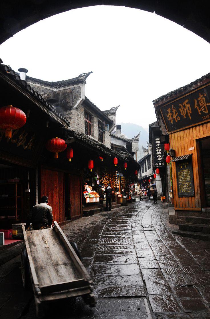 Phoenix Ancient Town, Hunan, China 湖南 鳳凰古城