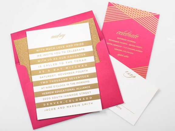 Exquisitely modern invitations cards and announcements 302