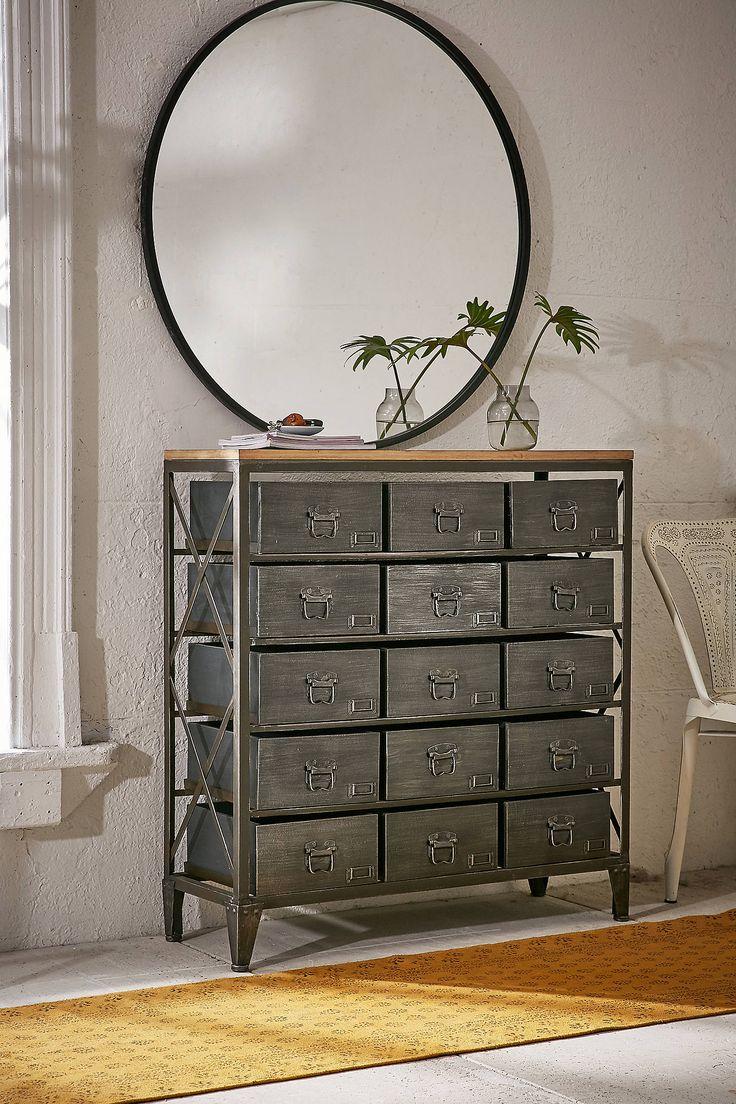 Best 25 urban industrial ideas on pinterest installing - Dresser for small room ...