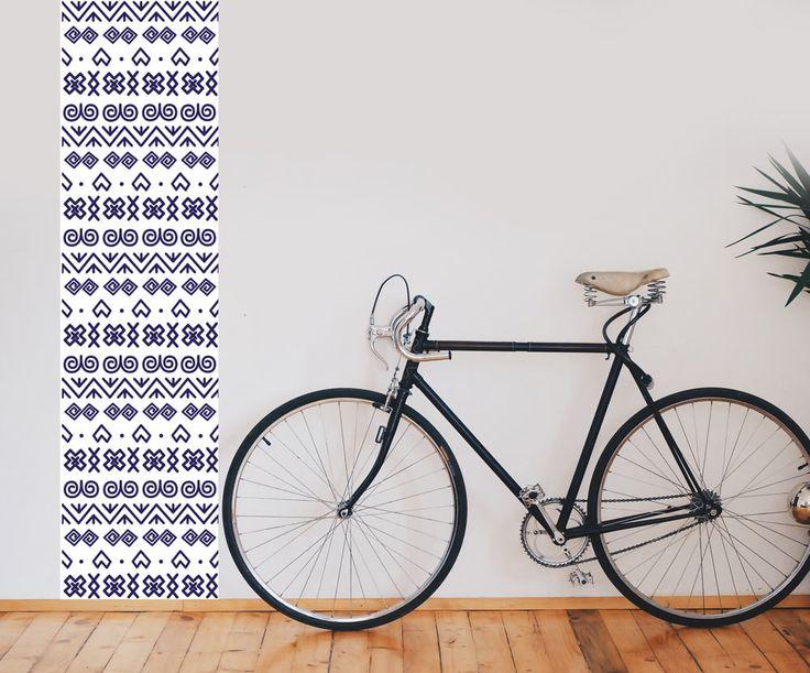 Čičmiansky vzor ako tapetový pás s rozmerom 70 x 270 cm |  DIMEX