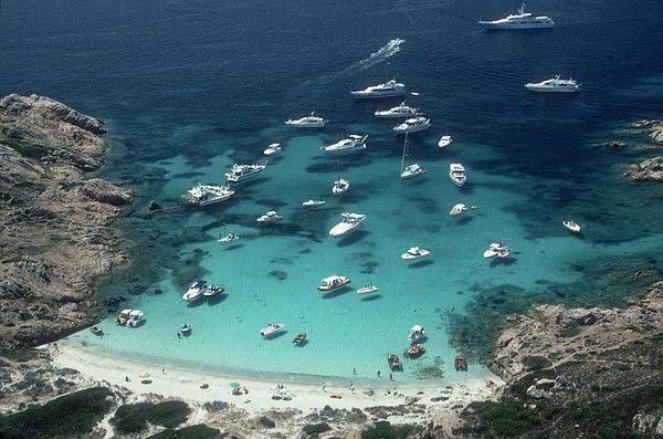 Porto Rotondo Sandy Cove, Sardinia_ Italy