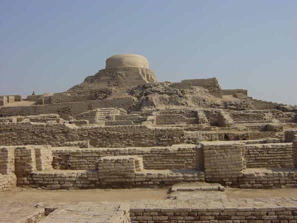 Ruines de Mohenjo Daro. Cette cité antique vieille de 5000 ans est situé dans la vallée de l'Indus au Pakistan.