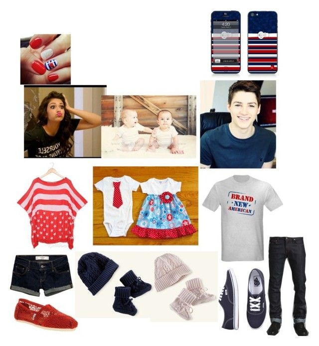 """""""Getting in the spirit"""" by bryanna-harrell ❤ liked on Polyvore featuring Ralph Lauren, SO Central, Abercrombie & Fitch, Naked & Famous, TOMS and Vans"""