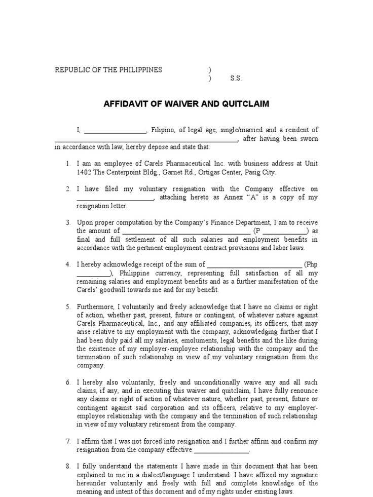 quitclaim resign affidavit free quit claim deed forms amp - address affidavit sample