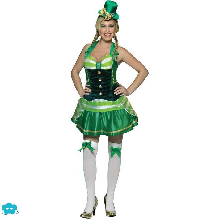 8999487f2 Disfraz del día de San Patricio para mujer