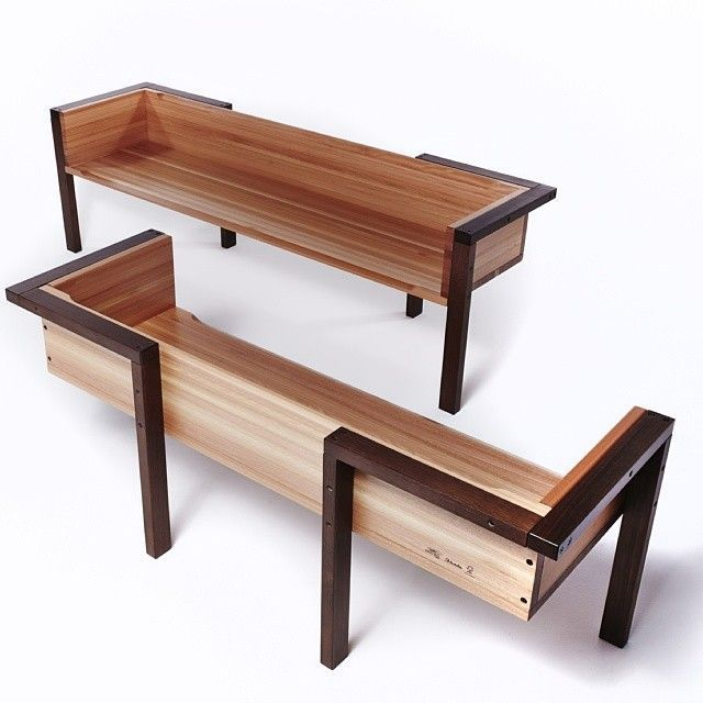 http://ift.tt/1Ys7OZJ: Wood Steel, Stools Metals, Outdoor Furniture, Benches Couch, Wooden Stools, Mud Rooms, Modern Shape, Outdoor Benches, Rooms Benches