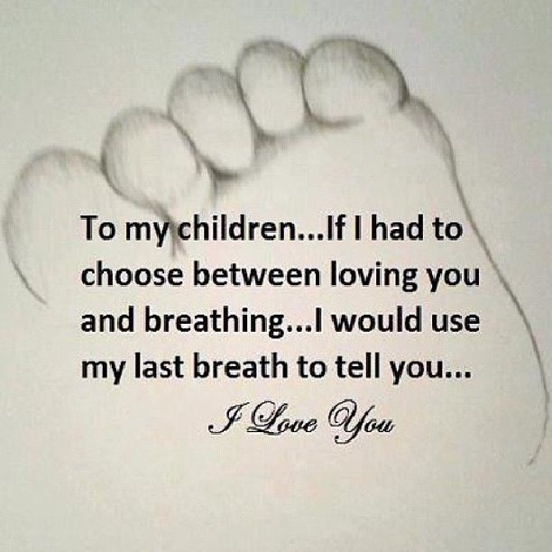 Quotes Love You For Eternity: To My Children; I Love You For All Eternity! Once I Draw