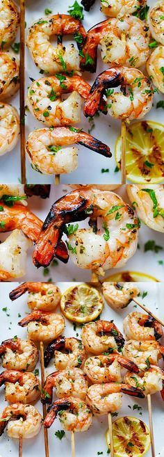 how to make grilled prawns with garlic butter