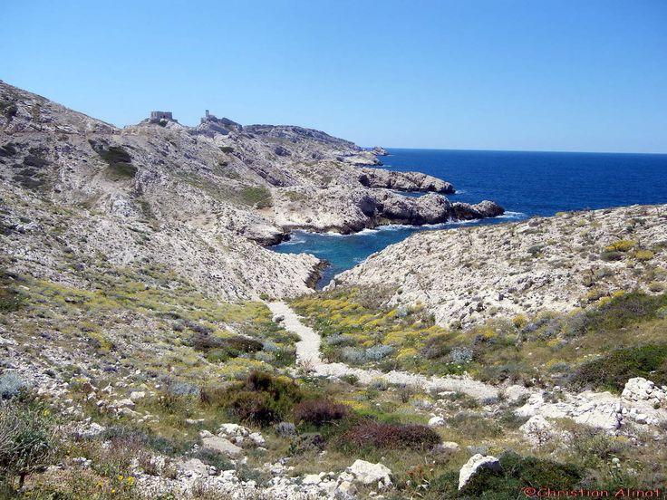 Le coté Pomègues de l'archipel du Frioul