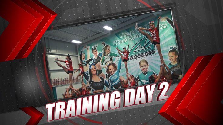 TEAM CANADA CHEERLEADING 2013 - TRAINING DAY 2 (7/12)
