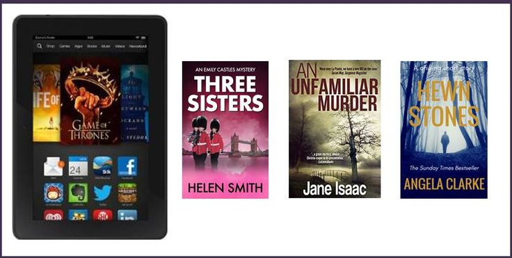 Kindle Fire Giveaway + Free Mystery/Thriller Books