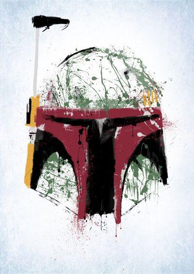 Boba Fett has the best helmet