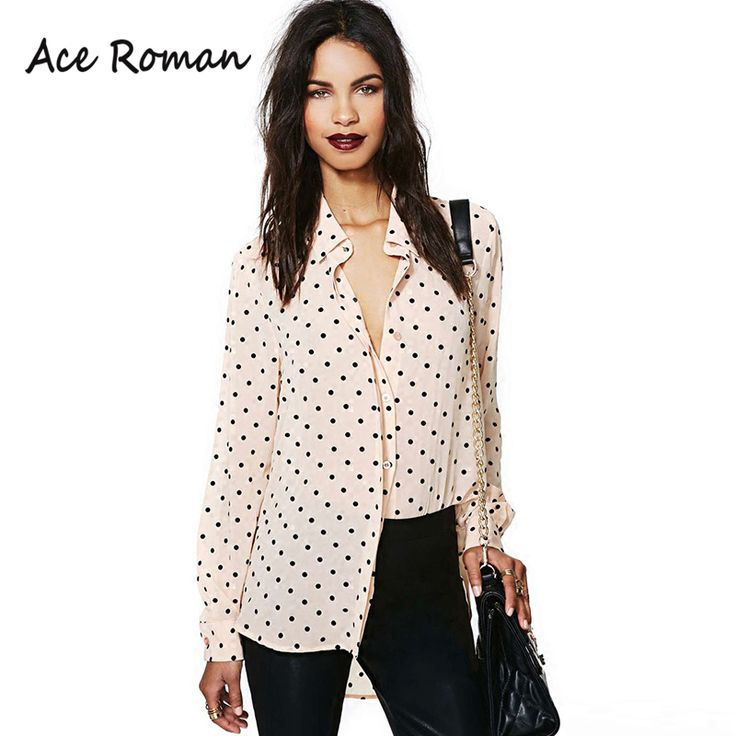 Find More Blouses & Shirts Information about New Style Women Casual Blouses…